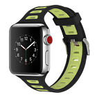 PASBUY B71 Silicone Replacement Strap Watch Band for Apple Watch Series 3 2 1 Wristwatch Bands - 98624