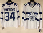 Auston Matthews Toronto Maple Leafs Adidas Authentic NHL Stadium Series Jersey