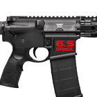 Внешний вид - AR 6.5 Grendel Magwell ID Decal - Magwell Lower Decal Sticker (6.5×39mm)