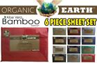 Organic Earth Bamboo Aloe Vera 1800 Series 6 Piece Full Size Sheet Set image