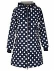 Danefae ♥ Jane Softshellmantel ♥ navy offwhite Dots ♥ Gr. XL
