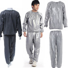 Unisex Sweat Sauna Suit Lose Weight Slimming Anti Rip Workout Training Clothes
