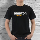 shirt purchase online - Amazon Online Marketplace Logo Men's Black and White T-Shirt Size S to 4XL