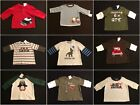 NWT Gymboree Boys LS Shirts Size 3-6 MONTH ONLY Selection!