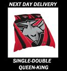 ESSENDON BOMBERS 2018 SINGLE DOUBLE QUEEN KING QUILT DUVET DOONA COVER SETS AFL