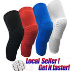 Men Youth Pad Honeycomb Leg Support Knee Sleeve Braces Sports Support Basketball