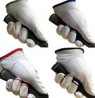 White MENS/LADIES Golf Gloves Glove LEFT RIGHT Hand Black,Blue,Red,Green LEATHER