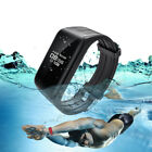 New Fitness Tracker Smart Bracelet Real-time Heart Rate Monitor Waterproof Watch