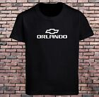Chevrolet Orlando Chevy Cars Black T-Shirt Grey Men's Tee Size S-3XL
