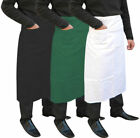 Chefs Long Bistro Apron Chef Waist / Waiter Waitress Cafe Bar Apron With Pocket