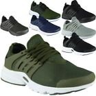 Mens Running Trainers Lace Up Flat Comfy Fitness Gym Sports Shoes Size