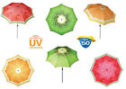 Doppler Funky Fruits UV 50+ Protection Beach / Garden Parasol - Parties & Events
