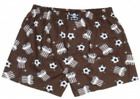 Lousy Livin Boxer Shorts/Underpants ST.PAULI Toast Brown Men New