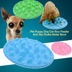 Pet Dish Interactive Fun Feeder Dog Bowls Slow Eating Down Feeder Tray - Size S