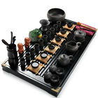 44pcs/lot complete tea set in Chinese kungfu tea set service solid wood tea tray