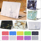 "2in1 Marble Stone Pattern Matte Case Shell for MacBook AIR PRO 13"" 15"" Touch Bar"