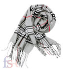 Best Vintage Scarves - Vintage Soft Touch Plaid Tartan Check Womens Scarf Review