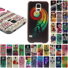s4 mini back cover - TPU Patterned For Samsung Galaxy S3 S4 S5 mini Back Case Cover Thin Silicone