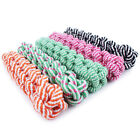 teething chew - EP_ Pet Dog Tough Strong Chew Knot Teddy Toy Puppy Healthy Teeth Cotton Rope Bli
