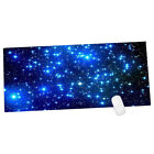 EP_ Galaxy Pattern Anti-slip Computer Gaming Large Mouse Pad Keyboard Mat Brief
