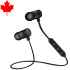 Wireless Bluetooth 4.1 Stereo Magnetic Sports Earphone Earbuds Headphone Headset <br/> PRIMUM QUALITY✔️ CANADIAN STOCK✔️ 4PM DISPATCH✔️