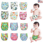 One Size Cloth Diapers Adjustable Reusable Baby Washable Cloth Pocket Nappies