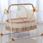 Electric Big Space Baby Crib Cradle Auto Swing Bed Infant Rocker Baby Cradle