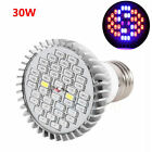 12/18/30/48/80W LED Grow Light E27 Lamp Bulb for Plant Hydroponic Full Spectrum