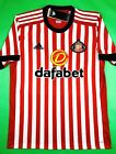 NWT SUNDERLAND AFC 2017 18 ML Home Adidas Soccer Jersey Football Shirt SAFC