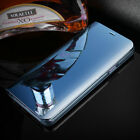 Samsung Galaxy S10+ Note 9 8 10 Luxury S-view Mirror Smart Flip Stand Case Cover
