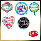 """Anagram 18"""" Happy Birthday Foil Balloons, Different design and Shapes UK Seller"""