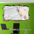 Snow Wildfife Animals Wolf Wall Stickers 3d Art Mural Room Office Home Decor Us9