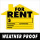 FOR RENT~YARD SIGN~LARGE~WITH STAKE~Home~House~Apartment photo