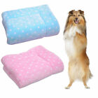warm and soft Puppy Cushion Cat Dog Comfortable Bed Pet Flannel Blanket I0600
