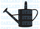 Watering Can STENCIL **13 Sizes** for Painting Signs Spring Flowers Summer Wood
