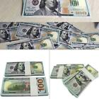 100 Bills Full Print Best Movie Prop Play Fake Money Joke Prank Magic Props BR