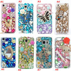 Custom-made Jewelled Bling Crystal Diamonds Soft Phone back Case Cover Skin #a8