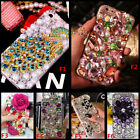 Custom-made Jewelled Bling Crystal Diamonds Soft Gel TPU Phone back Case Cover F