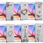 Handmade Luxury Bling Diamond Crystal Jewelled Clear Case Cover for S9 S9+ Note8