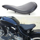 "New Black Soft Leather Solo Seat + 3"" Spring Bracket Kit For Indian Scout Bobber $69.8 USD on eBay"