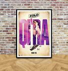 Solo A Star Wars Story Movie Poster Characters Film Print A4 A3 A2 A1 -201