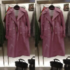 ZARA NEW S/S 2018. PINK COLOURED DOUBLE BREASTED TRENCH COAT. REF 8073/038.