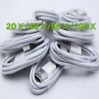 lot 20/40/80/100 x USB Sync Observations Charging Charger Cable Cord iPhone 4 4S ipod 4G