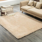 Mult-Color Large Area Rug Contemporary Abstract Solid Flokati Shaggy Carpet