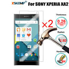 2Pcs Tempered Glass Film Screen Protector For Sony Xperia XA2 Ultra/XZ2 Compact