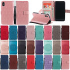 For iPhone X/8 Plus/7/6S Magnet Flip Leather Card Holder Wallet Stand Case Cover