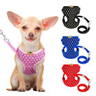 Harness Pet Vest Leash and Dog Mesh Set Cat Soft Puppy Small Strap Collar Breath