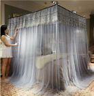 2018 new on market mosquito net bed curtain lace bed netting canopy frames queen image