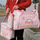 3Pcs Bolsa Maternidade Mummy Maternity Nappy Baby Travel Diaper Changing Bags
