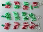 New 7 Foot Vintage Style Peppermint Garland Fake Candy Trees Wreath Arrangement